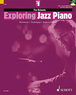 Tim Richards - Exploring Jazz Piano, Vol. 1, 2
