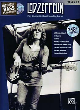 Ultimate Bass Play-Along - Led Zeppelin Vol.2