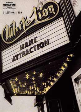 White Lion - Mane Attraction