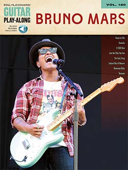 Bruno Mars - Guitar Play-Along Vol. 180