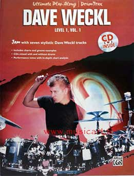 Dave Weckl - Ultimate Play Along - Level 1, Vol. 1