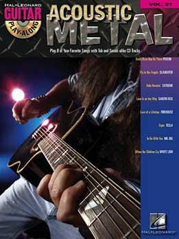 Guitar Play-Along Vol. 37 - Acoustic Metal