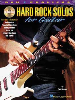 Paul Hanson - Hard Rock Solos For Guitar