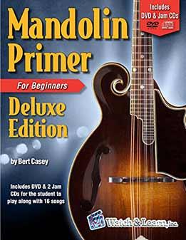 Bert Casey - Mandolin Primer Book For Beginners