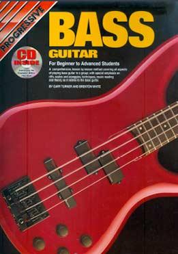 Gary Turner, Brenton White - Progressive Bass Guitar For Beginner To Advanced Students