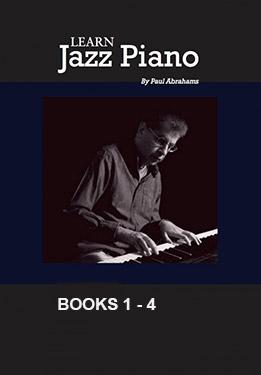 Paul Abrahams - Learn Jazz Piano, Book 1, 2, 3, 4