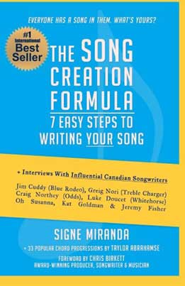 Signe Miranda - The Song Creation Formula: 7 Easy Steps To Writing Your Song