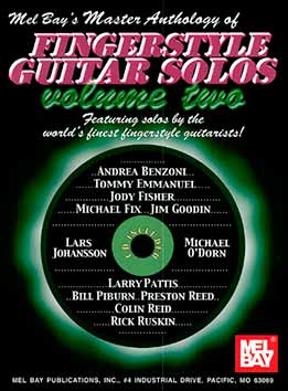 Andrea Benzoni - Master Anthology Of Fingerstyle Guitar Solos. Vol. 2