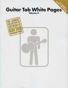 Guitar Tab White Pages, Vol. 4