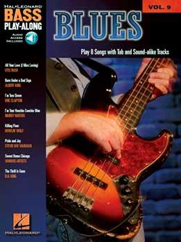 Blues - Bass Play-Along Vol. 9