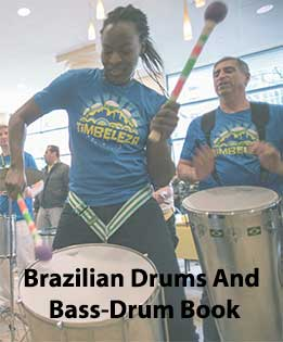 Brazilian Drums And Bass-Drum Book