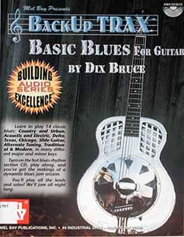 Dix Bruce – BackUp Trax Basic Blues For Guitar