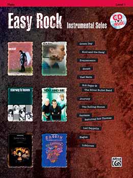 Flute - Easy Rock - Instrumental Solos (C) Lev. 1