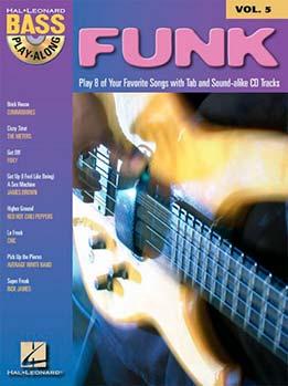 Funk - Bass Play-Along Vol. 5