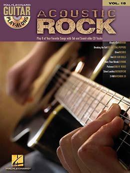 Guitar Play-Along Vol. 18 - Acoustic Rock
