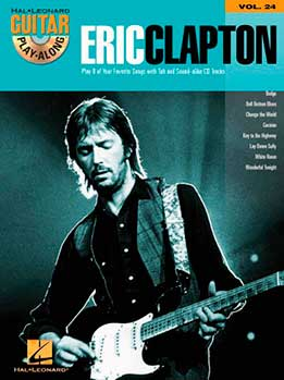 Guitar Play-Along Vol. 24 - Eric Clapton