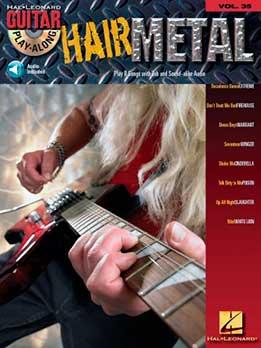 Guitar Play-Along Vol. 35 - Hair Metal
