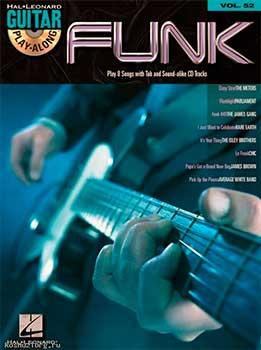 Guitar Play-Along Vol. 52 - Funk