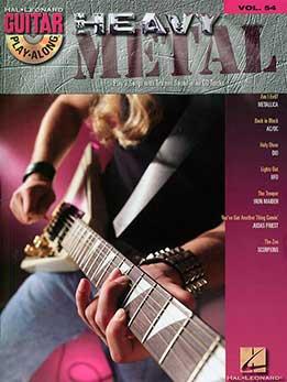 Guitar Play-Along Vol. 54 - Heavy Metal