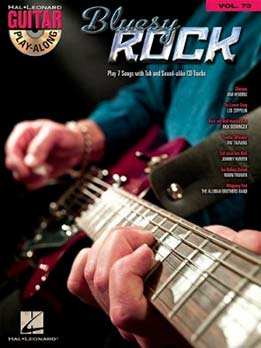 Guitar Play-Along Vol. 73 - Bluesy Rock