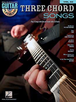 Guitar Play-Along Vol. 83 - Three Chord Songs