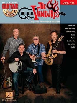 Guitar Play-Along Vol.116 - The Ventures