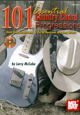 Larry McCabe - 101 Essential Country Chord Progressions