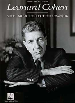 Leonard Cohen - Sheet Music Collection, 1967-2016