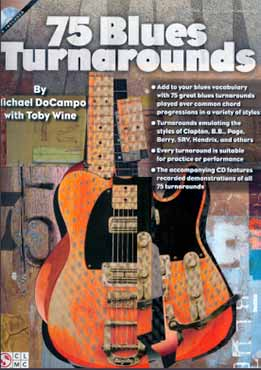 Michael DoCampo & Toby Wine - 75 Blues Turnarounds