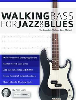Nick Clark - Walking Bass For Jazz And Blues. The Complete Walking Bass Method