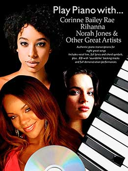 Play Piano With Corinne Bailey Rae, Rihanna, Norah Jones And Other Great Artists