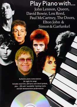 Play Piano With John Lennon, Queen, David Bowie, Lou Reed, Paul McCartney, The Doors, Elton John, Simon & Garfunkel