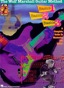 The Wolf Marshall Guitar Method - Basics. Vol. 1, 2, 3
