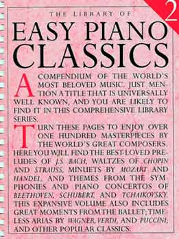 Tim Tully - The Library Of Easy Piano Classics Vol. 2