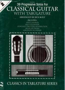 Ben Bolt - 39 Progressive Solos For Classical Guitar - Book 2