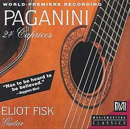 Eliot Fisk - Nicolo Paganini 24 Caprices