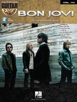 Guitar Play-Along Vol. 114 - Bon Jovi