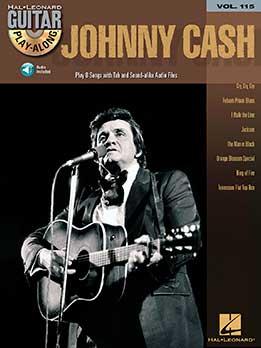 Guitar Play-Along Vol. 115 - Johnny Cash