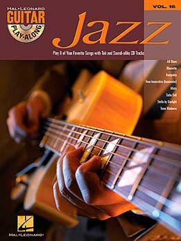Guitar Play-Along Vol. 16 - Jazz