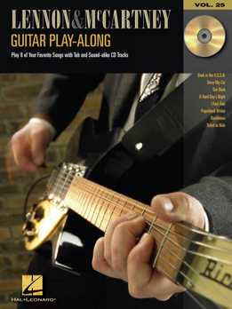 Guitar Play-Along Vol. 25 – Lennon & McCartney