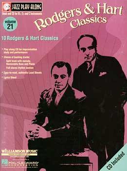 Jazz Play-Along Vol. 21 - Rodgers & Hart Classics