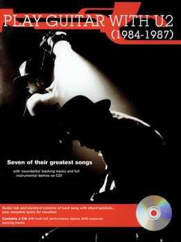 Play Guitar With U2 (1984 - 1987)