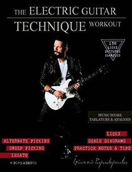 Yiannis Papadopoulos - The Electric Guitar Technique Workout