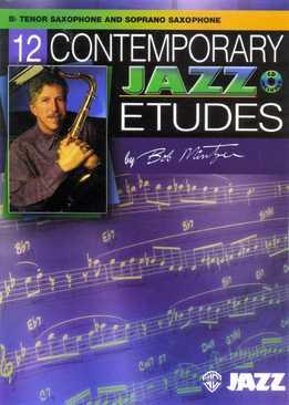 Bob Mintzer - 12 Contemporary Jazz Etudes (C, Bb)