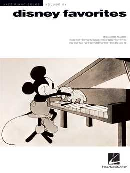 Disney Favorites - Jazz Piano Solos Series Vol. 51