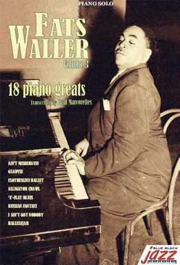 Fats Waller - 18 Solos For Piano Vol. 3