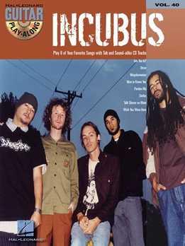 Guitar Play-Along Vol. 40 - Incubus