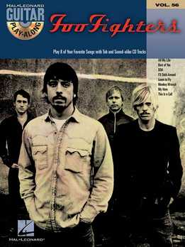 Guitar Play-Along Vol. 56 - Foo Fighters