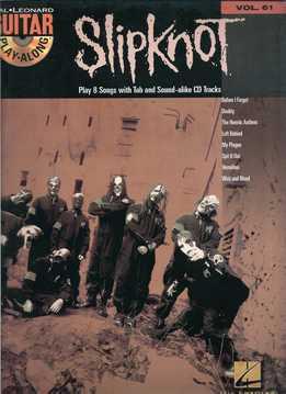 Guitar Play-Along Vol. 61 - Slipknot