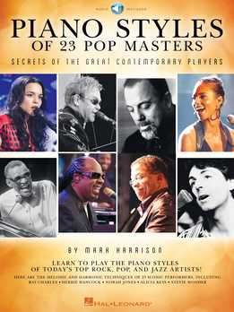 Mark Harrison - Piano Styles Of 23 Pop Masters - Secrets Of The Great Contemporary Players